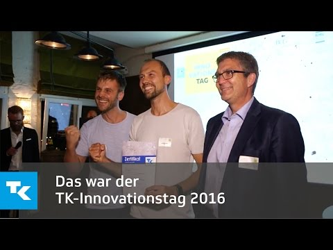 Das war der TK-Innovationstag 2016