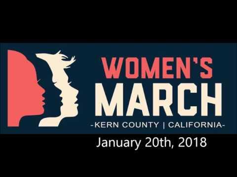 Kern County Women's March 2018
