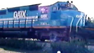 gatx freight train in hillside nj