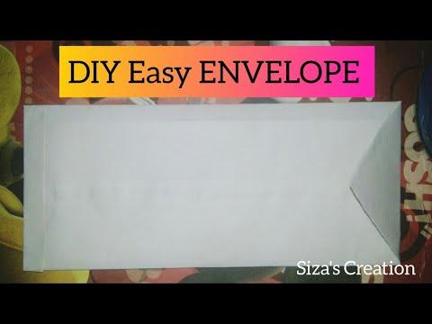 """DIY EASY ENVELOPE |APPLICATION ENVELOPE""| Origami | SIZA RAHAMAN |"