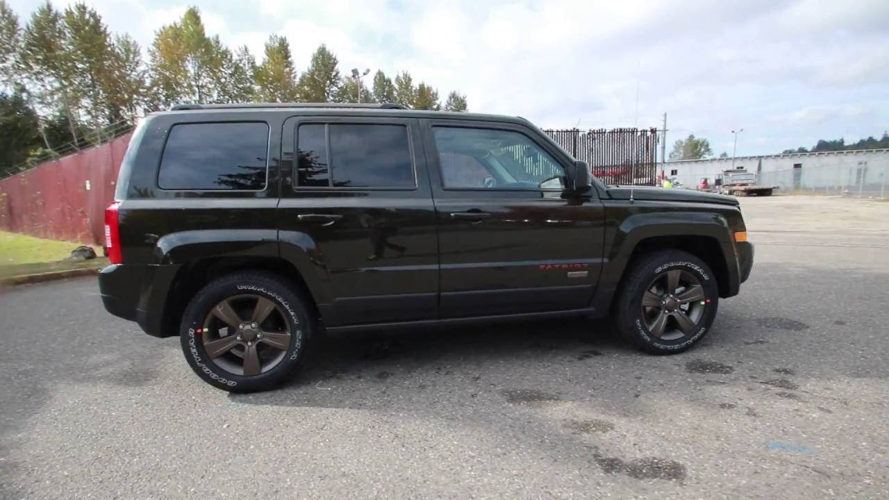 2017 Jeep Patriot 75th Anniversary Recon Green Clearcoat Hd130856 Redmond Seattle