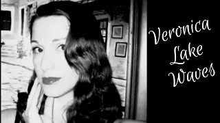 Veronica Lake Peekaboo Hairstyle- (The Old Fashioned Way)