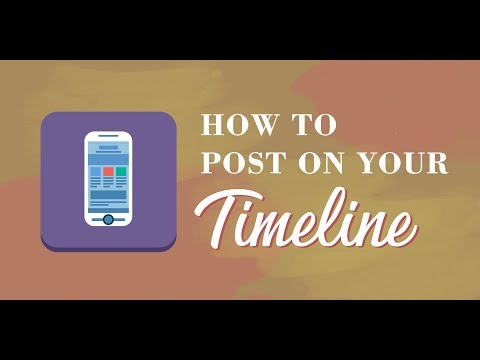 HOW TO: Post on your PeN Timeline