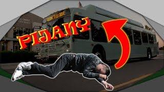 Historia o pijanym pasażerze w busie