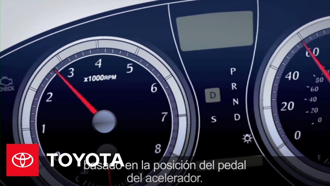 Cómo: Control electrónico del pedal | Toyota