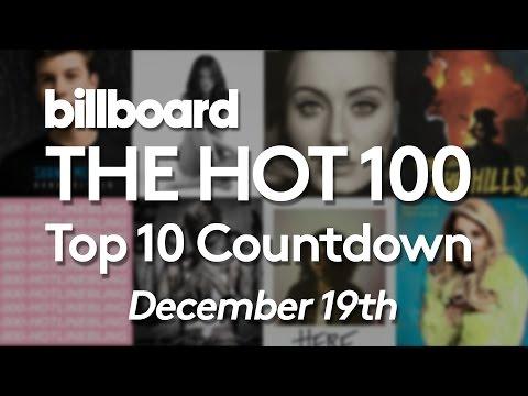 Official Billboard Hot 100 Top 10 December 19 2015 Countdown
