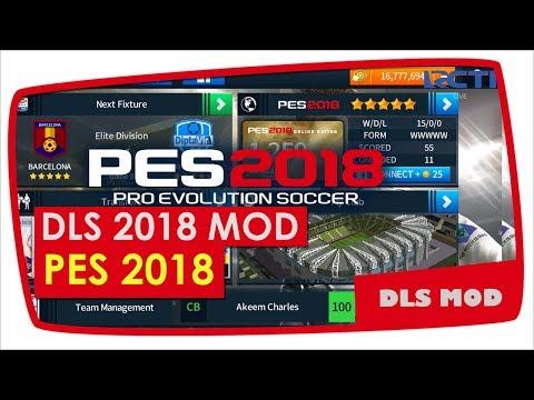 Dream League Soccer 2018 Mod Display PES 2018 Base APK V.5.02