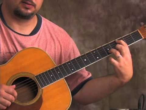 acoustic guitar lesson - learn to play blackbird - beatles - easy beginner songs