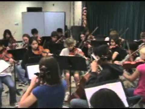 Award winning Las Flores Middle School Orchestra - 2008-04-02