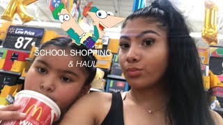SCHOOL SHOPPING & HAUL