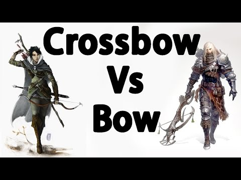 Skyrim : The Best Bow VS Crossbows