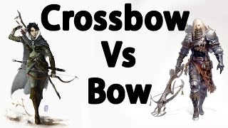 Skyrim : The Best Bow VS Crossbows