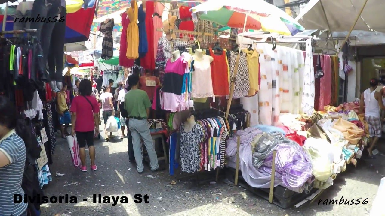 1b8633d25 Divisoria Ilaya Street Shoppers Guide dress clothes curtains toys shorts  table covers - YouTube