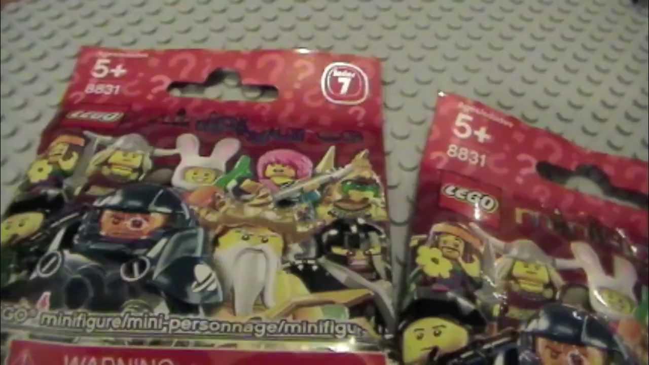 Lego Minifigures Series 7 Blind Bags Opening Brick Tober
