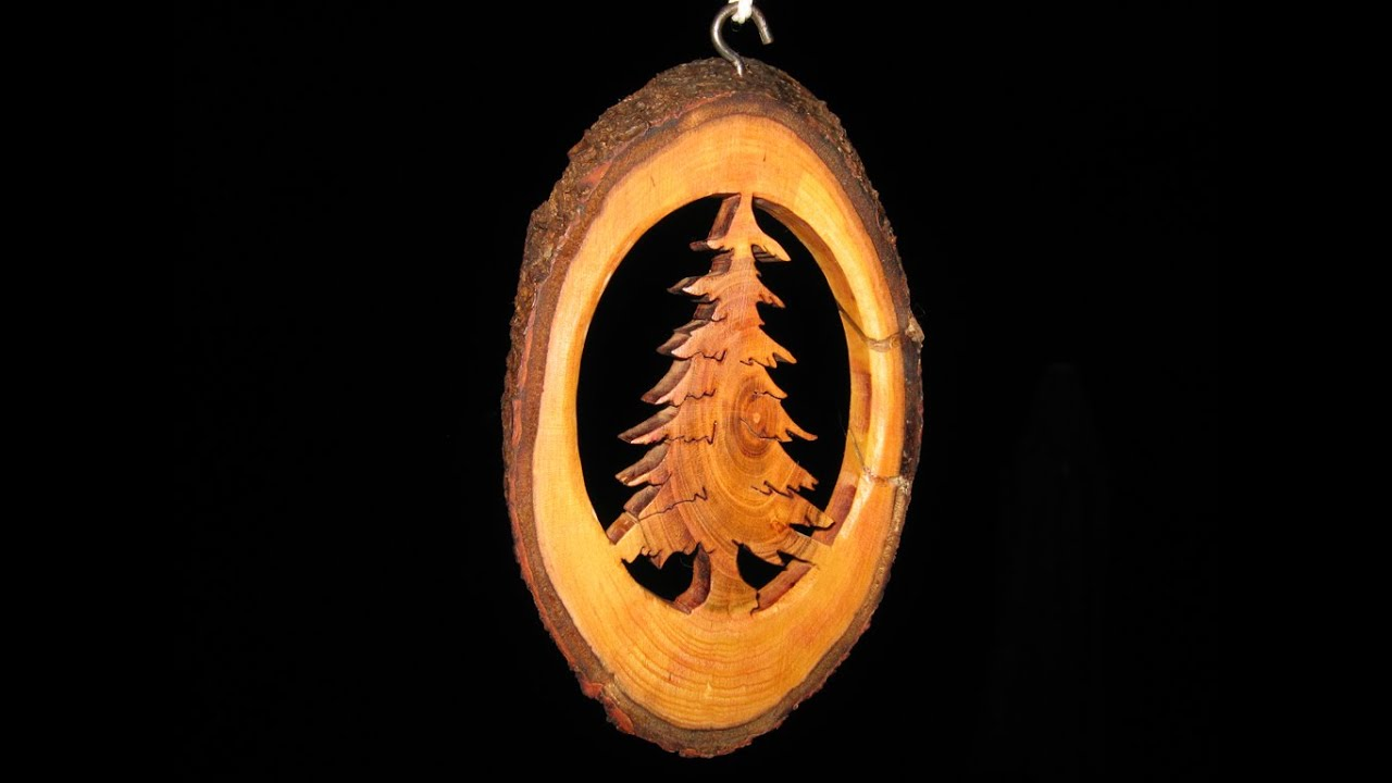 Tree Branch Christmas Ornament - Woodworking // How-To   Doovi