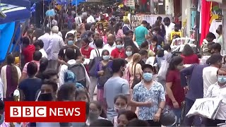 Covid: India's coronavirus outbreak in 200 seconds - BBC News