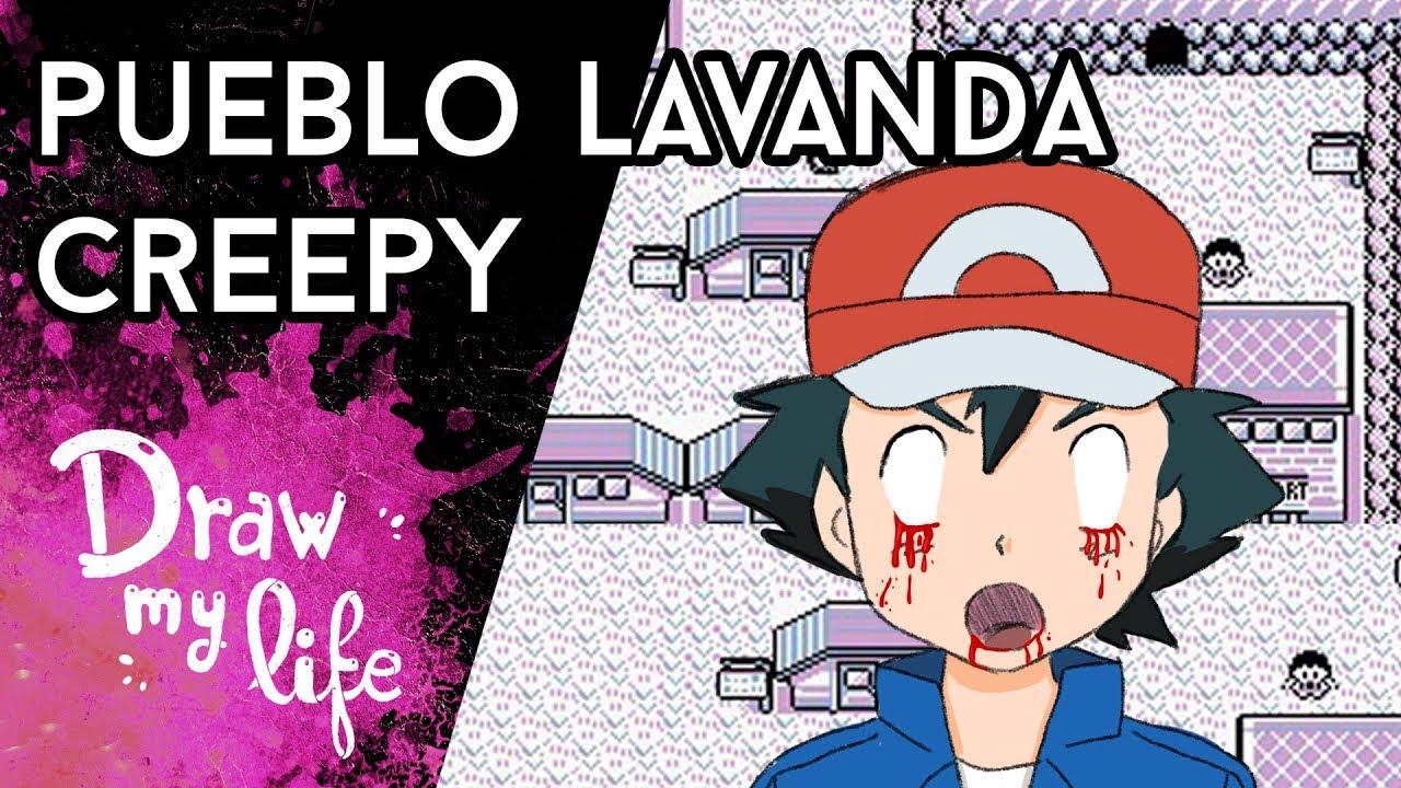 La LEYENDA de PUEBLO LAVANDA | Creepypasta | Draw My Life