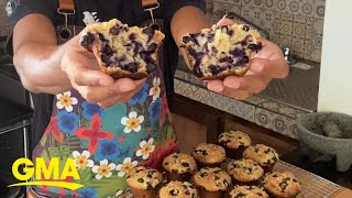 How to make the 'best' blueberry muffins l GMA Digital