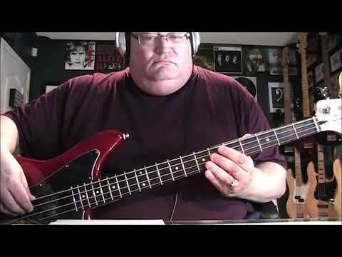 George Michael The First Time Ever I Saw Your Face Bass Cover With Notes & Tab