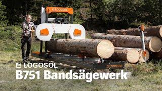 B751 Bandsägewerk