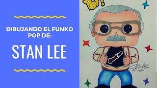 DIBUJO EL FUNKO POP DE STAN LEE Y LES COMPARTO DATOS QUE NO SABÍA RELACIONADOS CON EL.