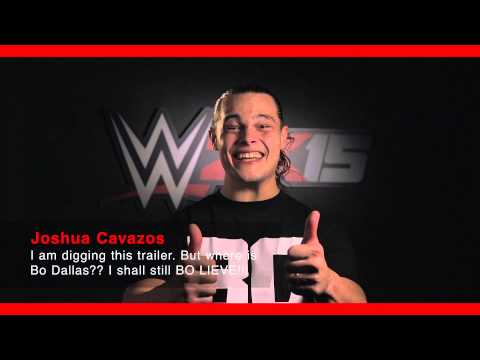 Bo Dallas to Joshua Cavazos | WWE 2K15 Comment Takeover