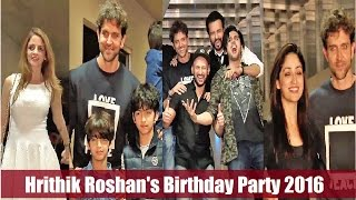 Hrithik Roshan's Birthday Party 2017 with close friends & family | Full Uncut Video.