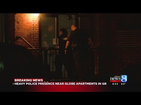 Police investigating stabbing at GR apartment complex