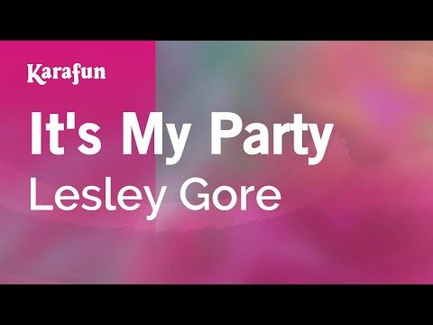 Karaoke It's My Party - Lesley Gore *