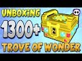 UNBOXING OVER 1300 TROVE OF WONDER (ToW)