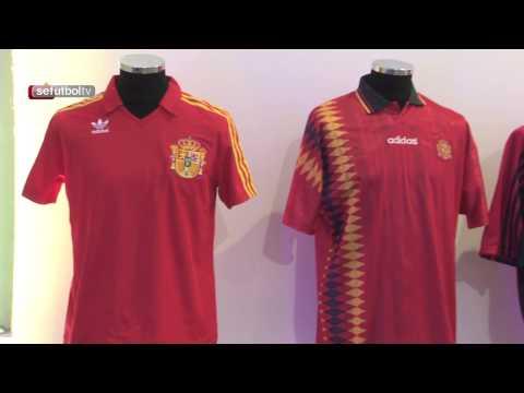 Repasamos las camisetas de la Selección española con Adidas