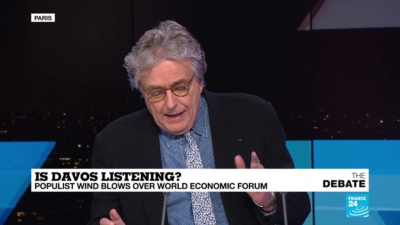 فرانس 24:Is the World Economic Forum achieving it's original goals?