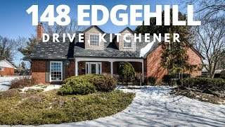 Classic Cape Cod Family Home - 148 Edgehill Drive - Kitchener Real Estate Video