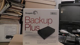Seagate 8TB USB unboxing, install, teardown, and Drobo test