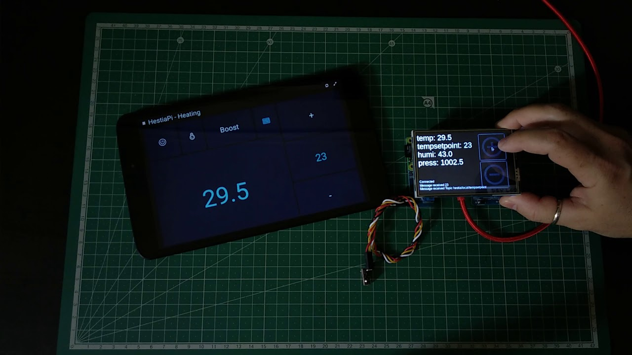 Project | HestiaPi Touch - Open Smart Thermostat | Hackaday io
