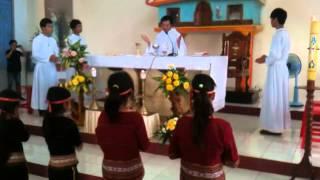 Thánh Lễ người Dân Tộc Bana Dakdoa Gialai 3