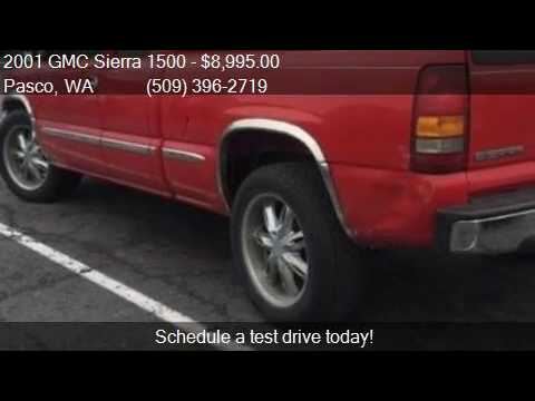 2001 gmc sierra 1500 for sale in pasco wa 99301 at west c youtube. Black Bedroom Furniture Sets. Home Design Ideas