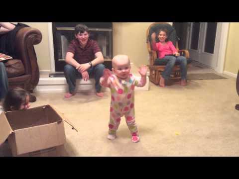 Eve Boswell Leading Music at 1yr