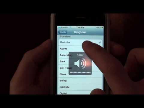 iPhone 3GS OS4.0 Beta 2 NEW RINGTONE!