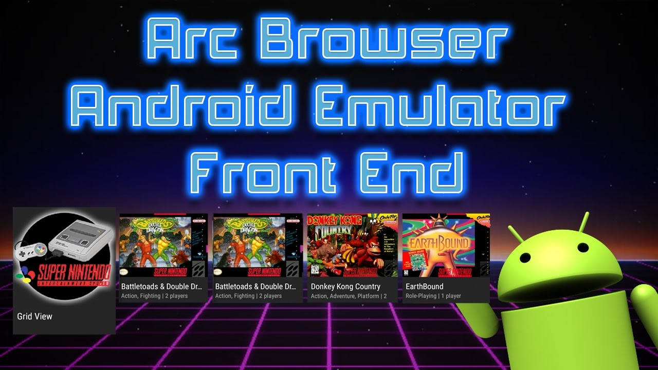 How To Set Up Arc Browser Emulator Front End For Android Phone,Tv,Tablet  #Smartphone #Android