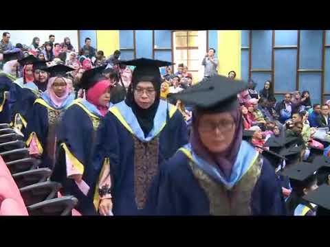 Majlis Konvokesyen Kirkby International College (KIC) 2018 di Auditorium UPSI