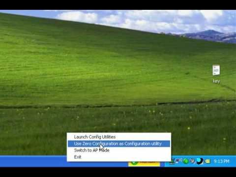 Windows XP PC'de PCI Wireless Ile Ağ Ve Internet Bağlantısı