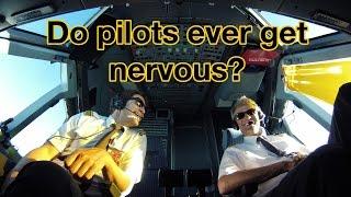 """Do PILOTS ever get NERVOUS? Explained by """"Captain""""Joe"""