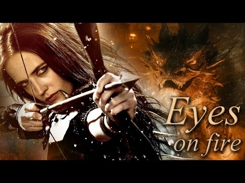 Eyes On Fire  Artemisia and Legolas Thranduil