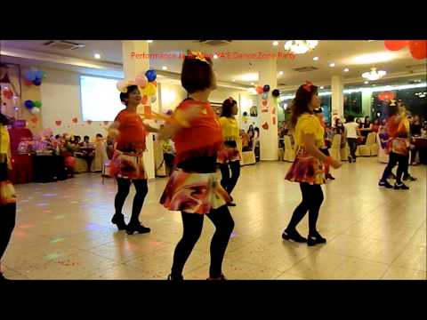 Line Dance Performance :Ja Ja Mbo on YA'E Dance Zone Party