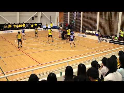 [Finals] Meridian JC Vs Victoria JC (2013 Floorball A Division Championships - Boys)