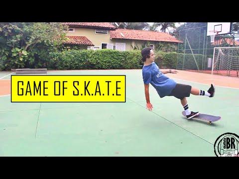 Game of S.K.A.T.E com Skatista BR