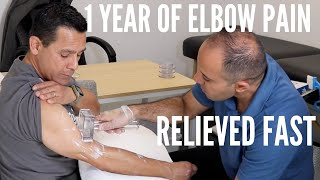 1 Year of Elbow Pain Relieved In No Time (REAL RESULTS!!!!)