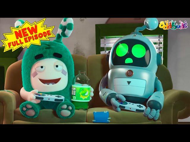 Oddbods   NEW   ROBO HELPER   Full EPISODE   Funny Cartoons For Kids