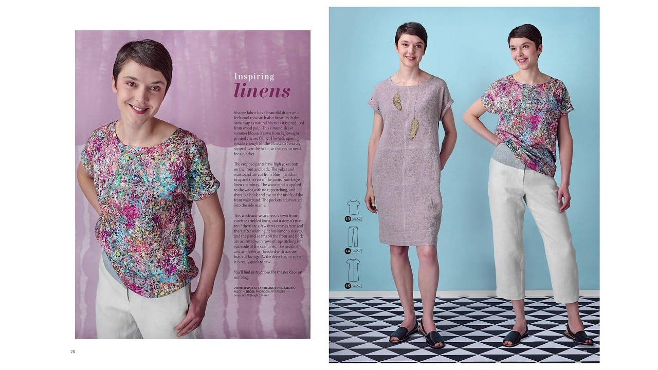 Magazin Ottobre design Woman Frühling 2016 : Nähanleitung + ...